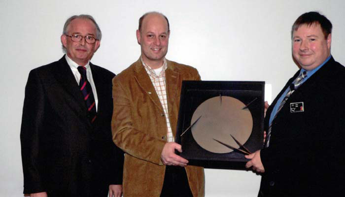 Auszeichnung auf der Frankfurter Messe ISH