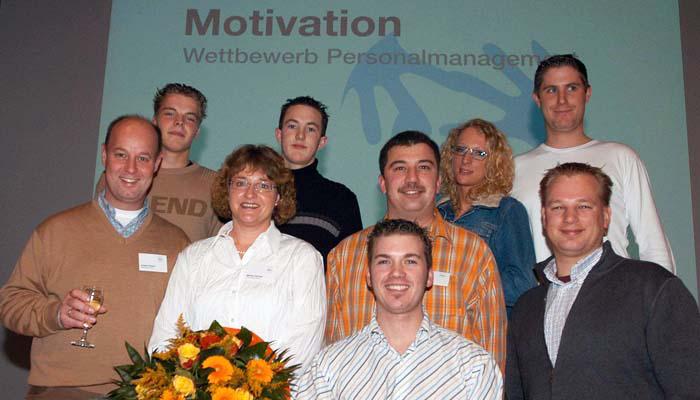 """Auszeichnung """"Führung und Motivation"""""""