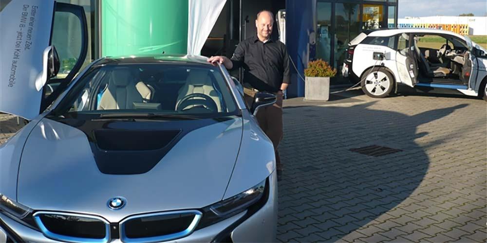 Elektromobilität Jürgen Hohnen - BMW i8