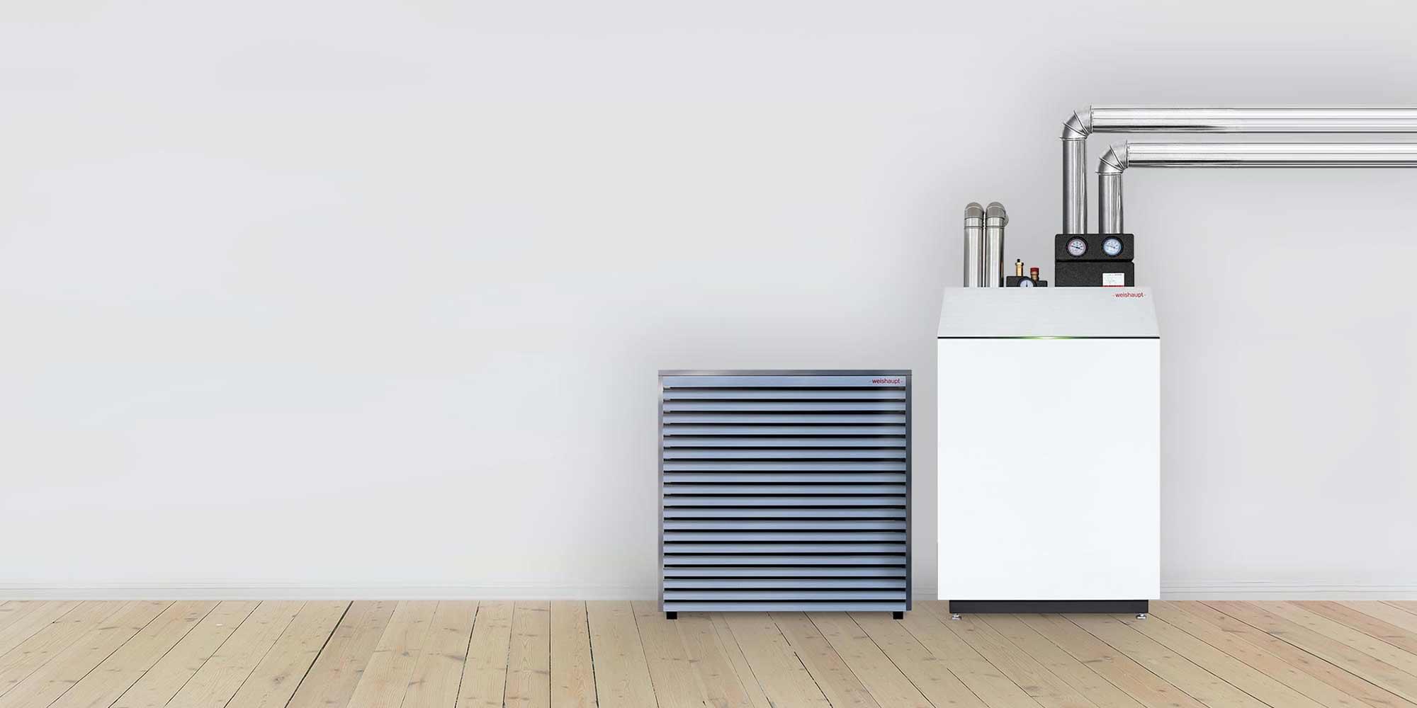 Wärmepumpen holen Energie aus Erdreich, Luft oder Grundwasser